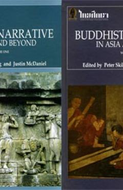 Covers of Two Volumes of Buddhist Narrative in Asia and Beyond